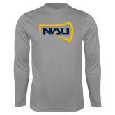 Syntrel Performance Steel Longsleeve Shirt-NAU Primary Mark