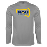 Performance Steel Longsleeve Shirt-NAU Lumberjacks