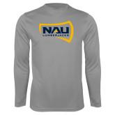 Syntrel Performance Steel Longsleeve Shirt-NAU Lumberjacks