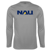 Performance Steel Longsleeve Shirt-NAU