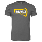 Next Level Premium Heather Tri Blend Crew-NAU Lumberjacks
