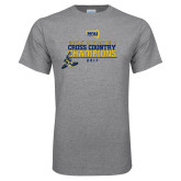 Grey T Shirt-2017 NCAA Division I Mens Cross Country Champions