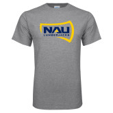 Grey T Shirt-NAU Lumberjacks