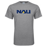 Grey T Shirt-NAU Distressed