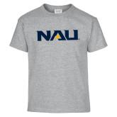 Youth Grey T-Shirt-NAU