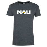 Ladies Dark Heather T Shirt-NAU