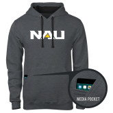 Contemporary Sofspun Charcoal Heather Hoodie-NAU