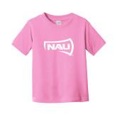 Toddler Pink T Shirt-NAU Primary Mark