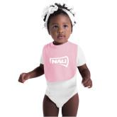 Light Pink Baby Bib-NAU Primary Mark