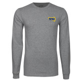 Grey Long Sleeve T Shirt-NAU Lumberjacks