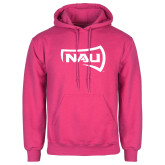 Fuchsia Fleece Hoodie-NAU Primary Mark