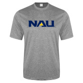 Performance Grey Heather Contender Tee-NAU