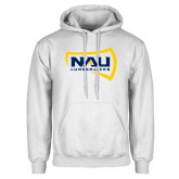 White Fleece Hoodie-NAU Lumberjacks