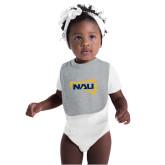 Grey Baby Bib-NAU Primary Mark