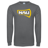 Charcoal Long Sleeve T Shirt-NAU Lumberjacks