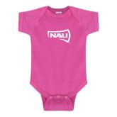 Fuchsia Infant Onesie-NAU Primary Mark