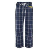 Navy/White Flannel Pajama Pant-NAU Primary Mark