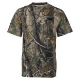 Realtree Camo T Shirt-NAU Primary Mark