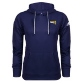 Adidas Climawarm Navy Team Issue Hoodie-NAU Primary Mark