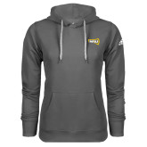 Adidas Climawarm Charcoal Team Issue Hoodie-NAU Primary Mark