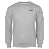 Grey Fleece Crew-NAU Primary Mark