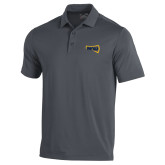 Under Armour Graphite Performance Polo-NAU Primary Mark