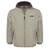 Khaki Survivor Jacket-Northern Arizona University Stacked