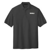 Charcoal Easycare Pique Polo-NAU