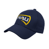 Navy Heavyweight Twill Pro Style Hat-NAU Primary Mark