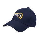 Navy Heavyweight Twill Pro Style Hat-NAU Primary Mark
