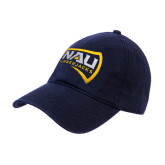 Navy Twill Unstructured Low Profile Hat-NAU Lumberjacks