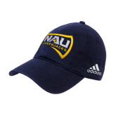 Adidas Navy Slouch Unstructured Low Profile Hat-NAU Lumberjacks