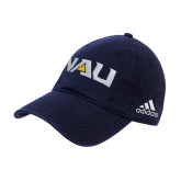 Adidas Navy Slouch Unstructured Low Profile Hat-NAU