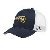 Adidas Navy Structured Adjustable Hat-NAU Lumberjacks