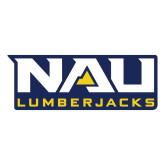Large Magnet-NAU Lumberjacks Stacked, 12 inches wide