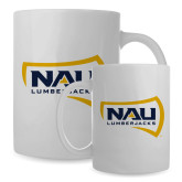 Full Color White Mug 15oz-NAU Lumberjacks