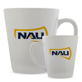 Full Color Latte Mug 12oz-NAU Primary Mark