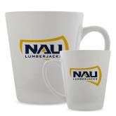 Full Color Latte Mug 12oz-NAU Lumberjacks