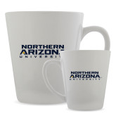 Full Color Latte Mug 12oz-Northern Arizona University Stacked
