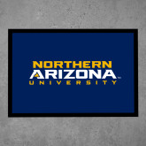 Full Color Indoor Floor Mat-Northern Arizona University Stacked