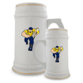 Full Color Decorative Ceramic Mug 22oz-Louie