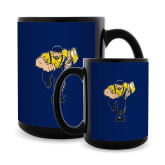 Full Color Black Mug 15oz-Louie