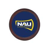 Round Coaster Frame w/Insert-NAU Lumberjacks