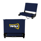Stadium Chair Navy-NAU Primary Mark