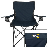 Deluxe Navy Captains Chair-NAU Primary Mark