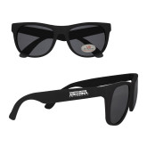 Black Sunglasses-Northern Arizona University Stacked