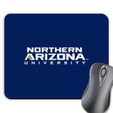 Full Color Mousepad-Northern Arizona University Stacked
