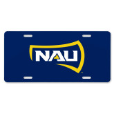 License Plate-NAU Primary Mark