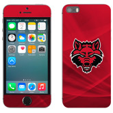 iPhone 5/5s Skin-Red Wolf Head