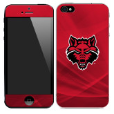 iPhone 5/5s/SE Skin-Red Wolf Head